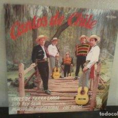 Discos de vinilo: CANTOS DE CHILE 1969 CHILE EX/EX. Lote 195456345