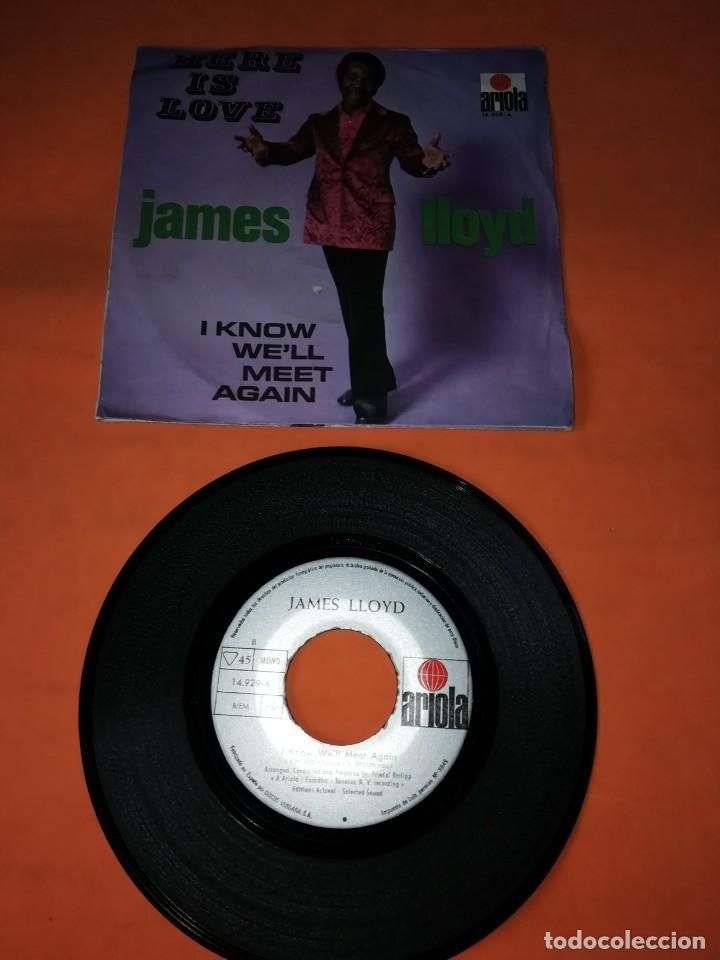 Discos de vinilo: JAMES LLOYD. HERE IS LOVE. ARIOLA RECORDS. 1971. - Foto 2 - 195456541