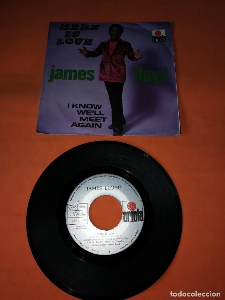 JAMES LLOYD. HERE IS LOVE. ARIOLA RECORDS. 1971. (Música - Discos - Singles Vinilo - Funk, Soul y Black Music)
