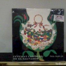 Discos de vinilo: CUTUMAY CAMONES LP PATRIA CHIQUITA MÍA NUEVO, PRECINTADO. Lote 195456682