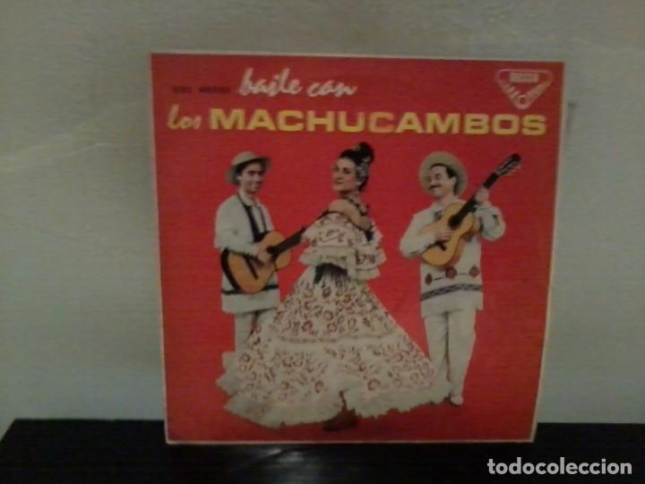 LOS MACHUCAMBOS BAILE CON LOS MACHUCAMBOS DECCA 1961 EX/EX (Música - Discos - LP Vinilo - Grupos y Solistas de latinoamérica)