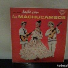 Discos de vinilo: LOS MACHUCAMBOS BAILE CON LOS MACHUCAMBOS DECCA 1961 EX/EX. Lote 195456907