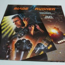 Discos de vinilo: BLADE RUNNER (ORCHESTRAL ADAPTATION OF MUSIC COMPOSED FOR THE MOTION PICTURE BY VANGELIS). Lote 195456975