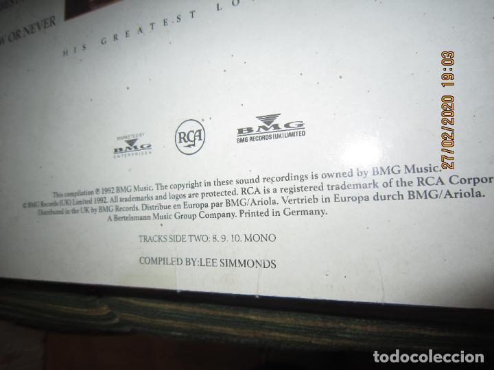 Discos de vinilo: ELVIS PRELEY - ELVIS FROM THE HEART LP - EDICION ALEMANA - RCA RECORDS 1992 REMASTERED - - Foto 4 - 195457376
