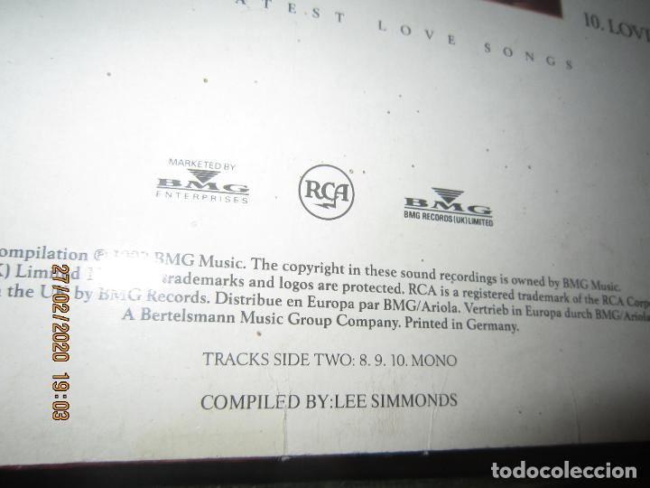 Discos de vinilo: ELVIS PRELEY - ELVIS FROM THE HEART LP - EDICION ALEMANA - RCA RECORDS 1992 REMASTERED - - Foto 5 - 195457376