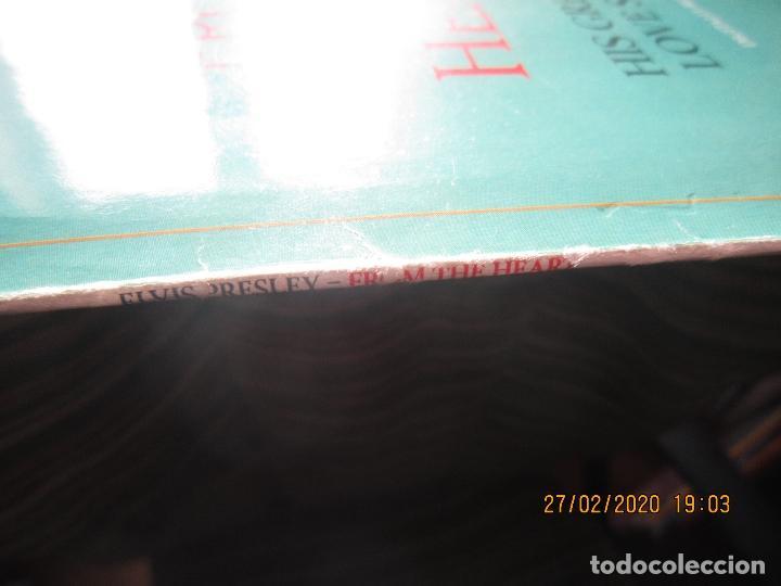 Discos de vinilo: ELVIS PRELEY - ELVIS FROM THE HEART LP - EDICION ALEMANA - RCA RECORDS 1992 REMASTERED - - Foto 6 - 195457376