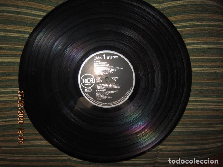 Discos de vinilo: ELVIS PRELEY - ELVIS FROM THE HEART LP - EDICION ALEMANA - RCA RECORDS 1992 REMASTERED - - Foto 9 - 195457376