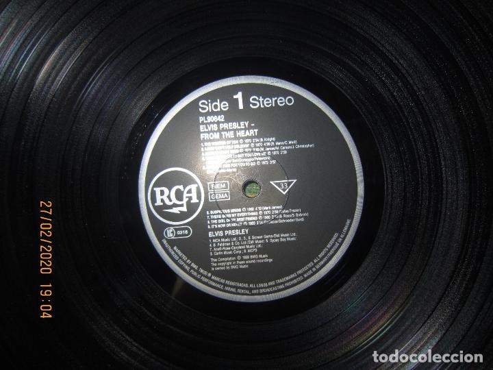 Discos de vinilo: ELVIS PRELEY - ELVIS FROM THE HEART LP - EDICION ALEMANA - RCA RECORDS 1992 REMASTERED - - Foto 10 - 195457376