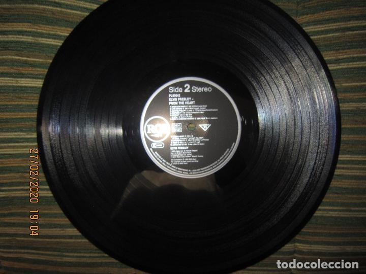 Discos de vinilo: ELVIS PRELEY - ELVIS FROM THE HEART LP - EDICION ALEMANA - RCA RECORDS 1992 REMASTERED - - Foto 12 - 195457376
