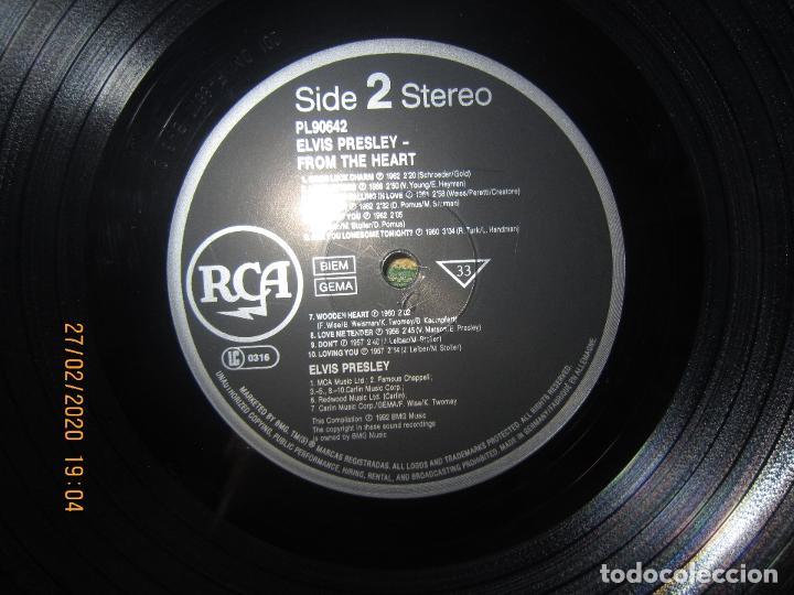 Discos de vinilo: ELVIS PRELEY - ELVIS FROM THE HEART LP - EDICION ALEMANA - RCA RECORDS 1992 REMASTERED - - Foto 13 - 195457376