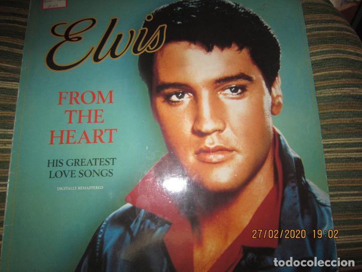 Discos de vinilo: ELVIS PRELEY - ELVIS FROM THE HEART LP - EDICION ALEMANA - RCA RECORDS 1992 REMASTERED - - Foto 17 - 195457376
