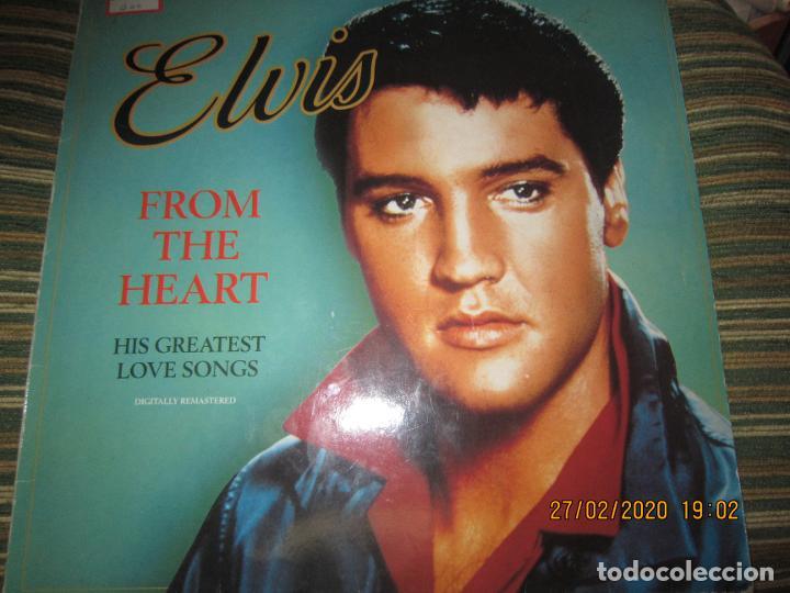ELVIS PRELEY - ELVIS FROM THE HEART LP - EDICION ALEMANA - RCA RECORDS 1992 REMASTERED - (Música - Discos - LP Vinilo - Rock & Roll)