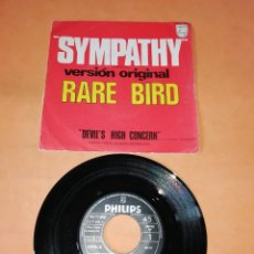 Discos de vinilo: RARE BIRD. SYMPATHY. DEVIL'S HIGH CONCERN. PHILIPS RECORDS 1970. Lote 195457741