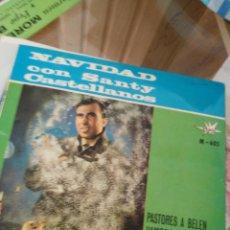 Discos de vinilo: NAVIDAD CON SANTY CASTELLANOS. Lote 195458132
