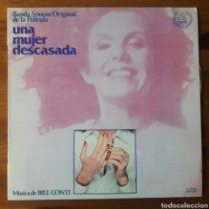 Discos de vinilo: UNA MUJER DESCASADA, BILL CONTI. Lote 195458143