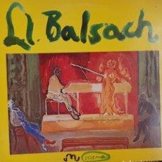 Discos de vinilo: LL.BALSACH SUITE GROGA - ECZEMA 1980 MUY RARO Y DIFÍCIL DE ENCONTRAR. Lote 195458175