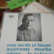 Discos de vinilo: GREGORIO BARRIOS. Lote 195458920