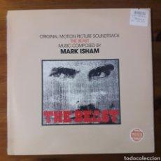 Discos de vinilo: LA BESTIA DE LA GUERRA (THE BEAST) MARK ISHAM. Lote 195459068