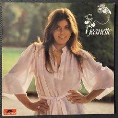 Discos de vinilo: JEANETTE, CANTA EN FRANCES, TODO ES NUEVO, LP 1977. Lote 195459118