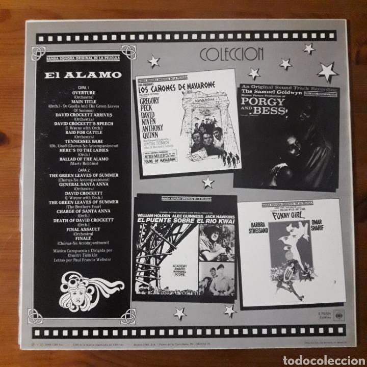 Discos de vinilo: EL ÁLAMO, DIMITRI TIOMKIN - Foto 2 - 195459410