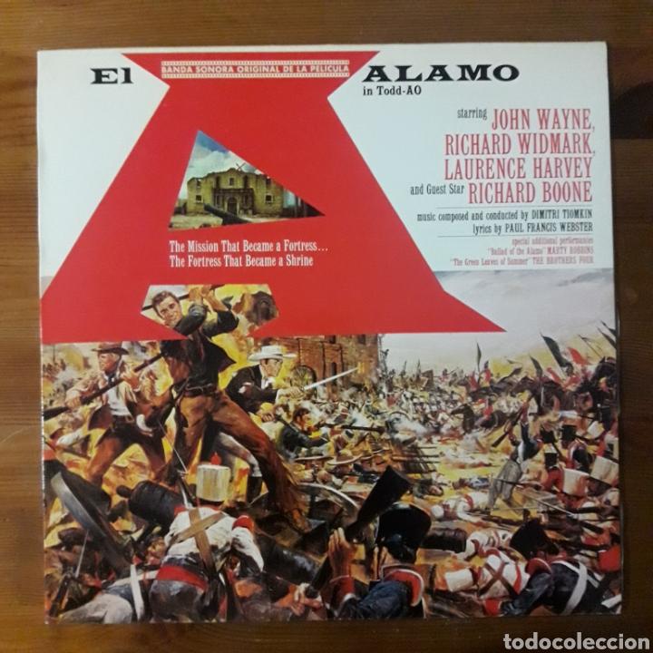 EL ÁLAMO, DIMITRI TIOMKIN (Música - Discos - LP Vinilo - Bandas Sonoras y Música de Actores )
