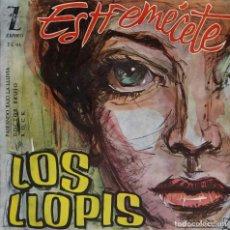 Discos de vinilo: LOS LLOPIS. ESTREMÉCETE. EP ESPAÑA. Lote 195462587