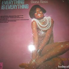 Discos de vinilo: DIANA ROSS - EVERYTHING IS EVERYTHING LP - ORIGINAL INGLES - TAMLA MOTOWN RECORDS 1970 - STEREO -. Lote 195465188
