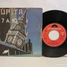 Discos de vinilo: TRUPITA - DE 7 A 10 / DIAS DE ESCUELA - SINGLE - 1984 - SPAIN - VG/VG. Lote 195467326