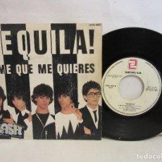 Discos de vinilo: TEQUILA! - DIME QUE ME QUIERES / DEJENME DORMIR - SINGLE - 1980 - SPAIN - VG+/VG. Lote 195467910