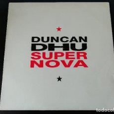 Discos de vinilo: DUNCAN DHU: SUPERNOVA - LP (1991). Lote 195468340
