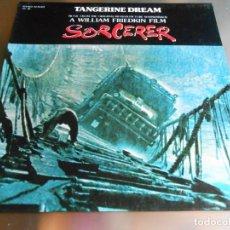 Discos de vinilo: TANGERINE DREAM - FILM: SORCERER - LP, MAIN TITLE + 11, AÑO 1977. Lote 195468695