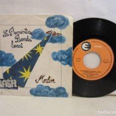 Discos de vinilo: LA ROMANTICA BANDA LOCAL - MERLIN - SINGLE - 1980 - SPAIN - VG+/VG. Lote 195468867