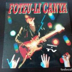 Discos de vinilo: FOTEU-LI CANYA (SANGTRAÏT, SAU, ETC.) - LP (1991). Lote 195469810
