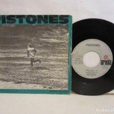 Discos de vinilo: PISTONES - PERSECUCION / GALAXIA - SINGLE - 1984 - SPAIN - VG+/VG. Lote 195469967