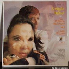 Discos de vinilo: CARMELA Y RAFAEL RONDALLA DEL CHATO FRANCO EDITADO EN MEXICO. Lote 195470308