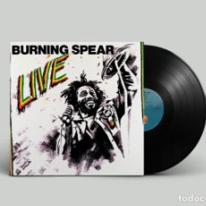 Discos de vinilo: BURNING SPEAR – LIVE UK 1977. Lote 195470516