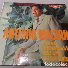 Discos de vinilo: ANTONIO MACHIN, EL HUERFANITO+ ANOCHE HABLE CON LA LUNA+CUENTO CONTIGO/ EP 1967. Lote 195471617