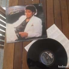 Discos de vinilo: MICHAEL JACKSON LP. THRILLER MADE IN SPAIN. 1982. Lote 195471630