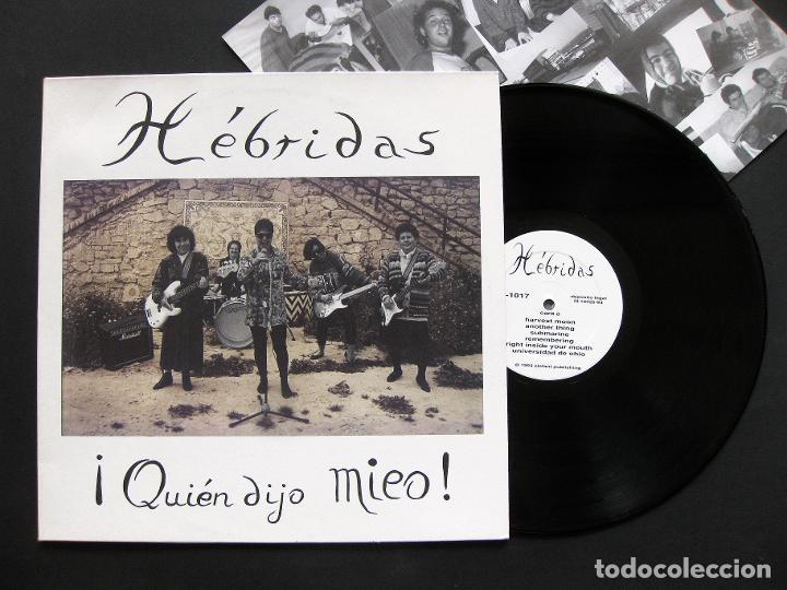 HÉBRIDAS ?– ¡QUIÉN DIJO MIEO! – VINILO 1994 (Música - Discos - LP Vinilo - Grupos Españoles de los 90 a la actualidad)