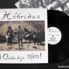 Discos de vinilo: HÉBRIDAS – ¡QUIÉN DIJO MIEO! – VINILO 1994. Lote 195472503