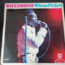 Discos de vinilo: WILSON PICKETT: WICKEDNESS - LP (1977). Lote 195475178