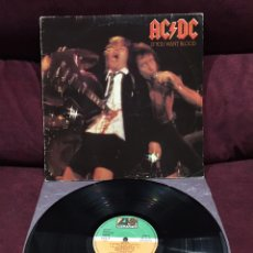 Discos de vinilo: AC/DC - IF YOU WANT BLOOD YOU'VE GOT IT LP, REEDICIÓN, 1982, ESPAÑA. Lote 195477187