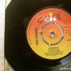 Discos de vinilo: BOZ SCAGGS / LIDO SHUFFLE / SINGLE 7 INCH. Lote 195478440
