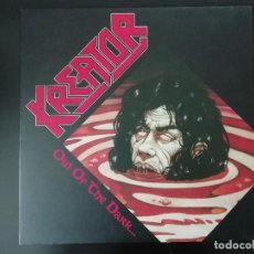 Discos de vinilo: KREATOR: OUT OF THE DARK INTO THE LIGHT - LP (1988). Lote 195479040