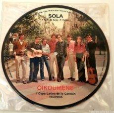 Discos de vinilo: CONJUNTO OIKOUMENE (SAYTON, 1972) MEGARARE XIAN POPSIKE - PAX, PAULINAS, PENTECOSTES VIBRATIONS. Lote 195486753