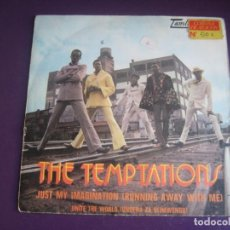 Discos de vinilo: THE TEMPTATIONS SG MOTOWN 1971 - JUST MY IMAGINATION (RUNNING AWAY WITH ME) +1 - FUNK SOUL . Lote 195487303