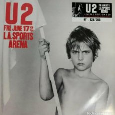Discos de vinilo: U2 - L.A. SPORTS ARENA 17/06/1983 -2 LP-. Lote 195489141