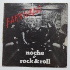 Discos de vinilo: BARRICADA. NOCHE DE ROCK & ROLL. LP. TDKLP. Lote 195489875