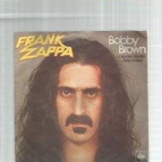 Discos de vinilo: FRANK ZAPPA BOBBY BROWN. Lote 195490126