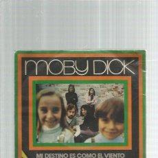Discos de vinilo: MOBY DICK MI DESTINO. Lote 195490210
